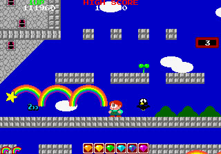 Powerups are available to give you some oomph, such as multiple rainbows