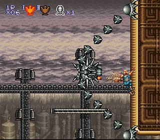 In this game, unlike previous games, you could climb solid walls