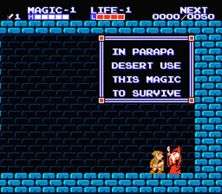 The magic concept was unheard of in Zelda before then, but has been used since