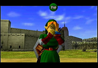 The Ocarina is the main focus of this game.