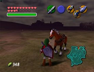 Epona is gained in Adulthood, and makes transportation easy