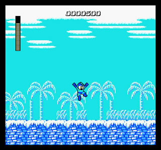 Mega Man is arguably one of Capcom's most marketable franchises, and he had a destinctive jump